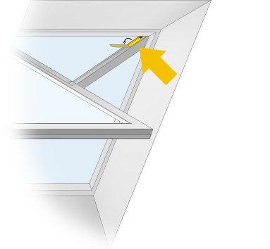 dachfenster rollo plissee f r dachfenster dachfenster. Black Bedroom Furniture Sets. Home Design Ideas