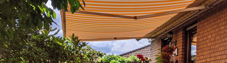 markise neu bespannen gallery of sonnenschutz f r die terrasse terrasse markise neu bespannen. Black Bedroom Furniture Sets. Home Design Ideas