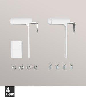 klemmtrger fr rollos fabulous fabulous shiny home plisse rollo fr fenster ohne bohren bx l xcm. Black Bedroom Furniture Sets. Home Design Ideas