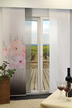 fl chenvorh nge flair malve. Black Bedroom Furniture Sets. Home Design Ideas