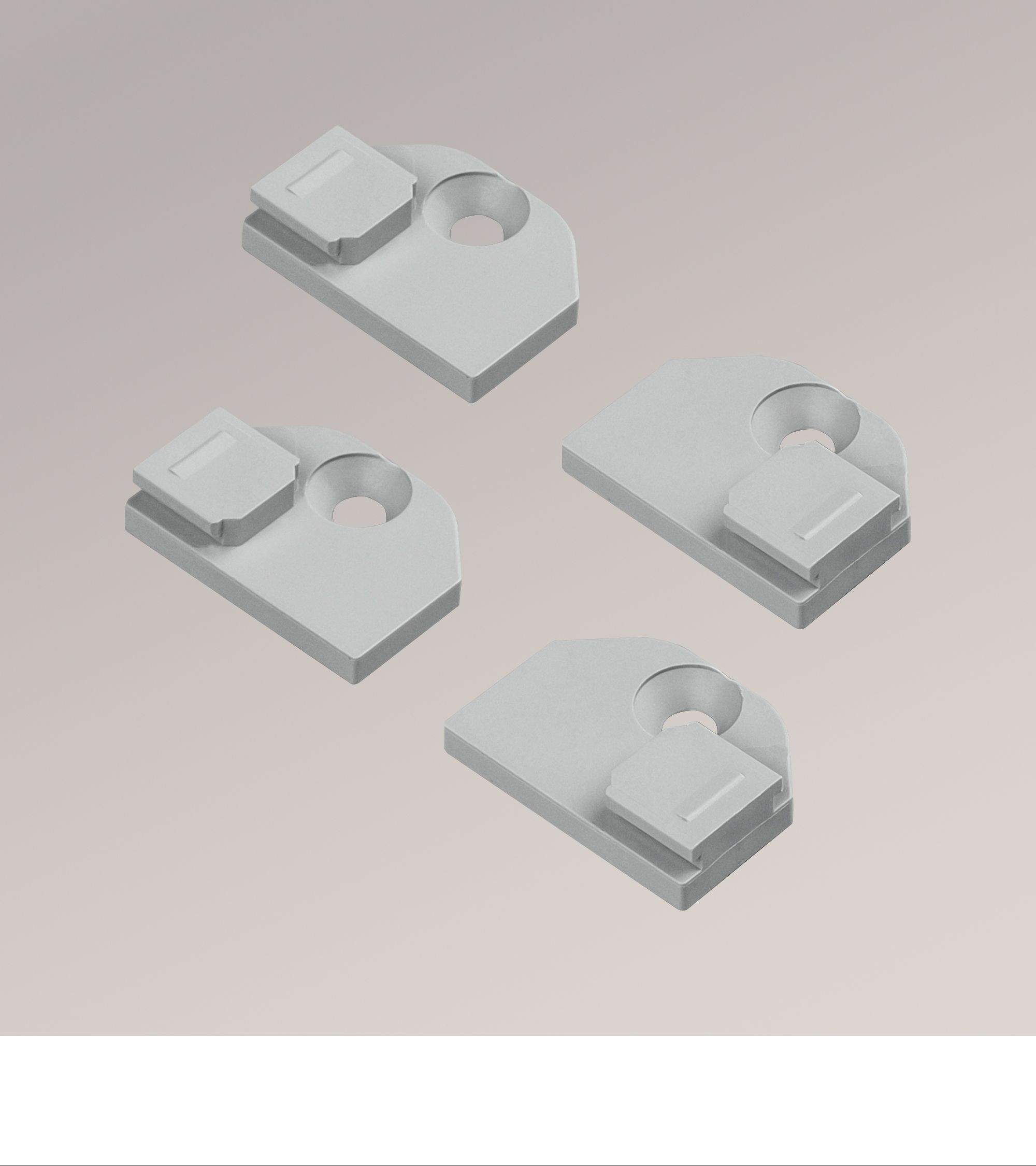 set flachtr ger decomatic zur befestigung ihres decomatic. Black Bedroom Furniture Sets. Home Design Ideas