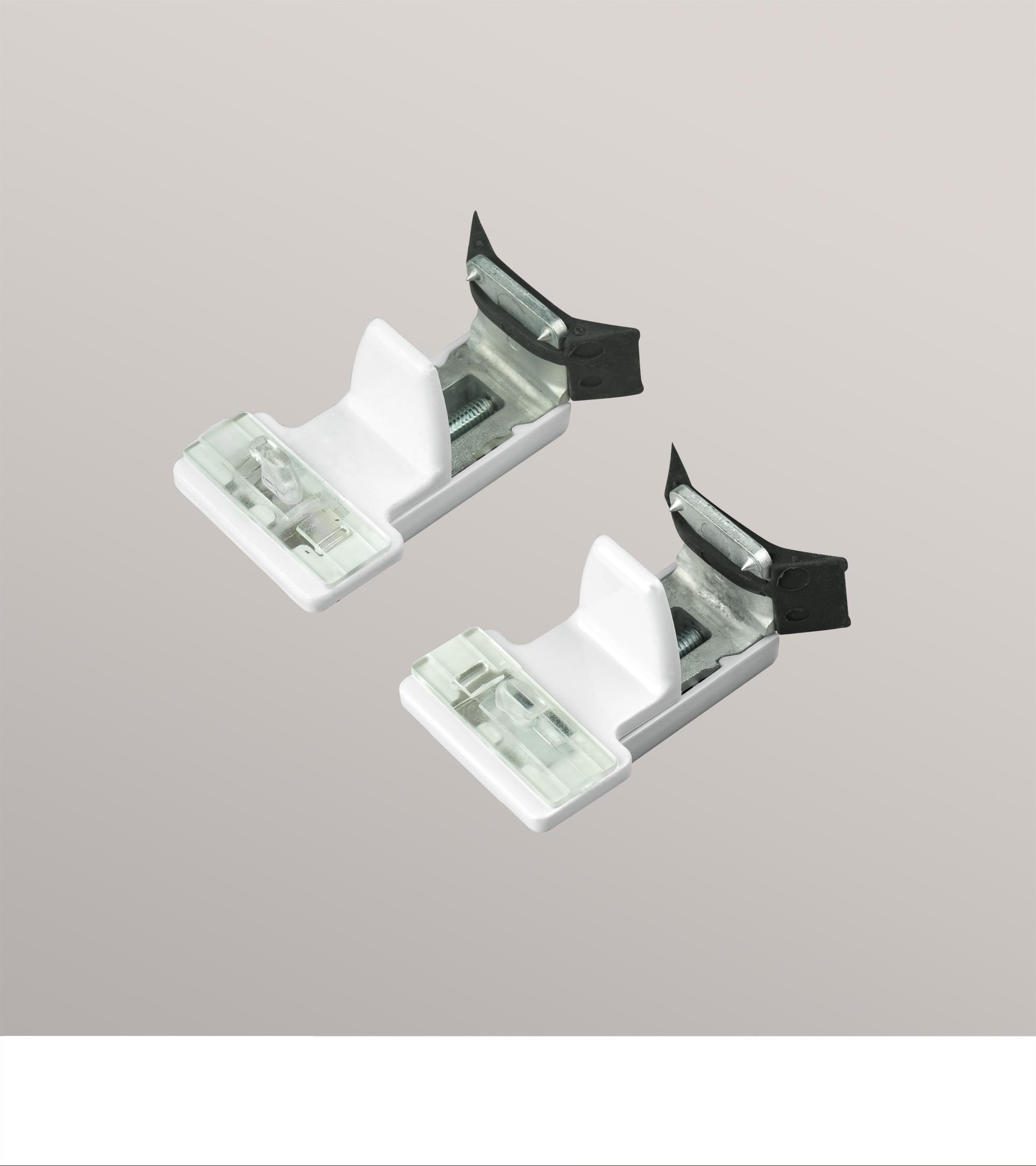 1 paar klemmtr ger exklusiv cosiflor zur befestigung ihres cosiflor plissees. Black Bedroom Furniture Sets. Home Design Ideas