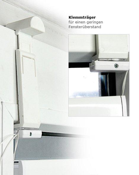 klemmtr ger falzfix decomatic plissee zubeh r f r sensuna decomatic. Black Bedroom Furniture Sets. Home Design Ideas