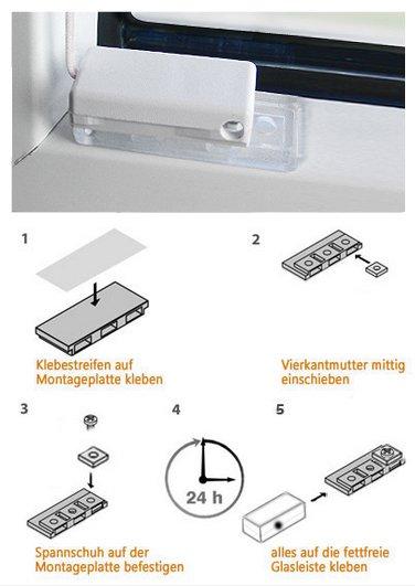 stick fix klebeplatten decomatic plissee zubeh r f r sensuna decomatic. Black Bedroom Furniture Sets. Home Design Ideas