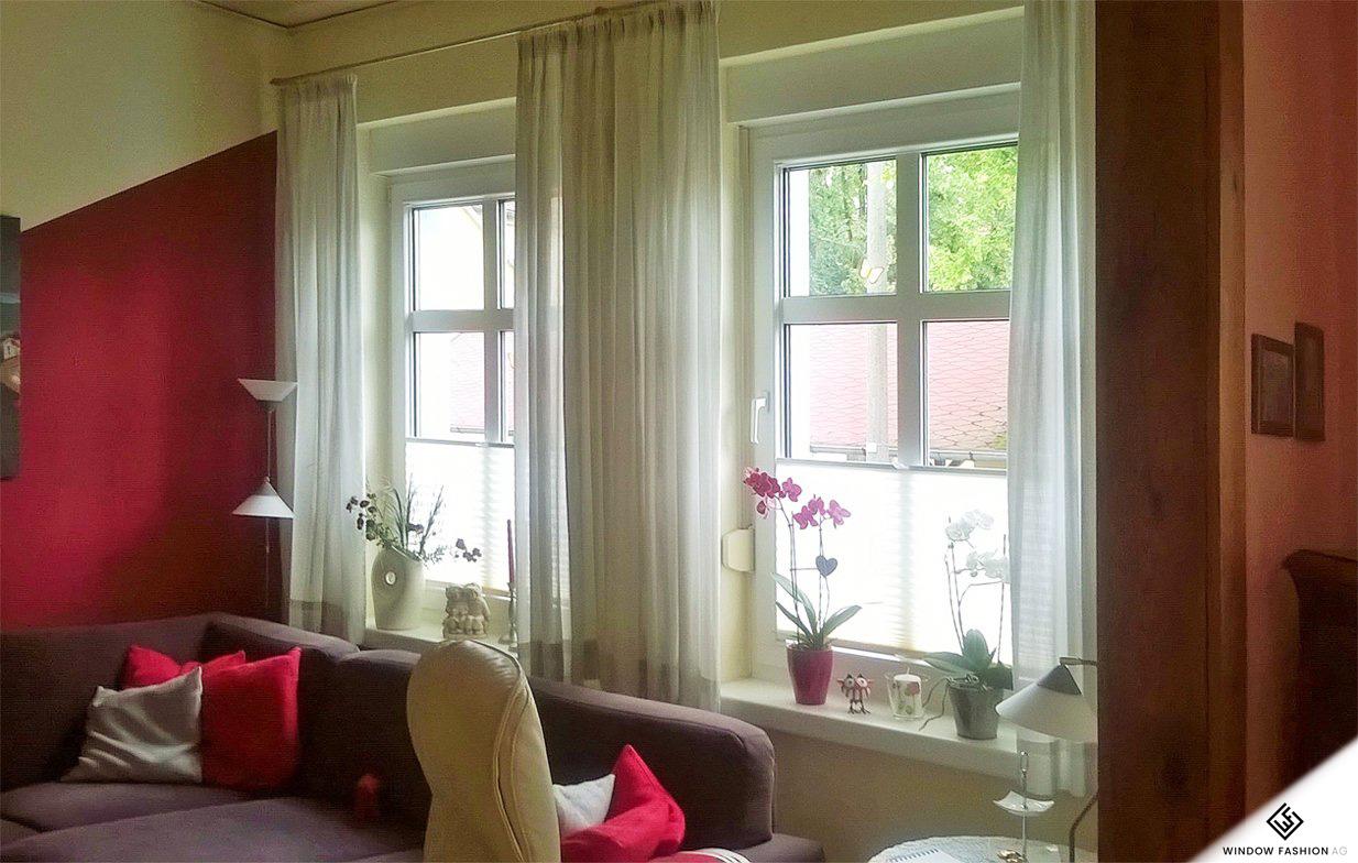 plissee fr bodentiefe fenster elegant perfect awesome rollos jalousien deko rollos meradiso. Black Bedroom Furniture Sets. Home Design Ideas
