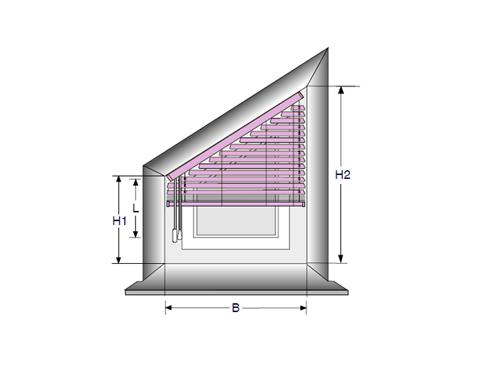 jalousie richtig ausmessen mit. Black Bedroom Furniture Sets. Home Design Ideas