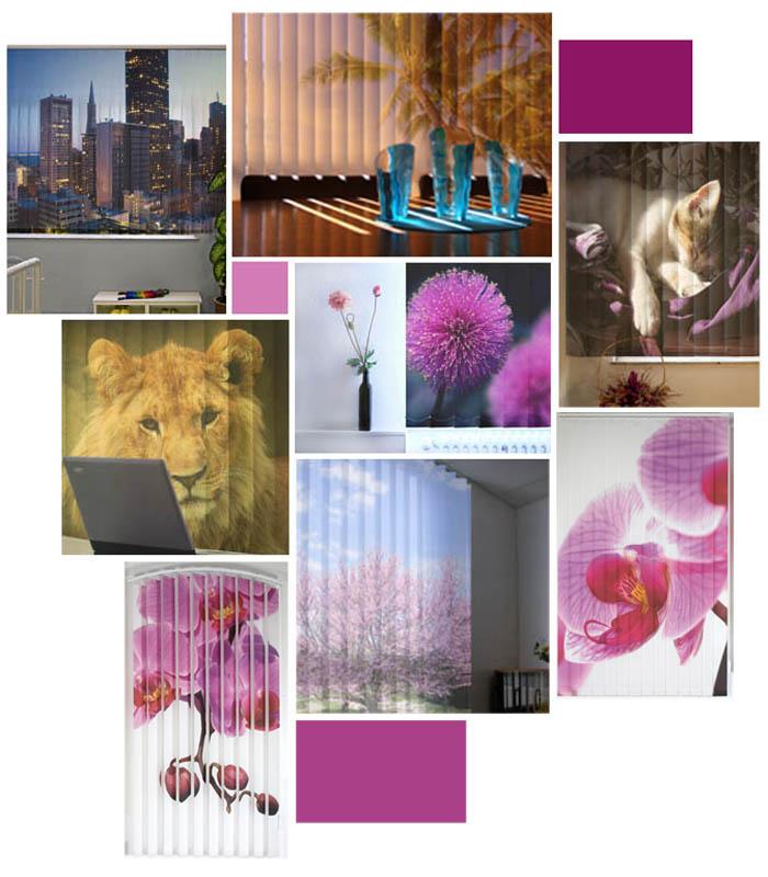 lamellenvorhang bedruckt lamellen mit ihrem individualdruck. Black Bedroom Furniture Sets. Home Design Ideas
