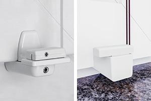 plissee montage ohne bohrung mit klemmtr gern stick fix klebeplatten oder falzfix klemmtr gern. Black Bedroom Furniture Sets. Home Design Ideas